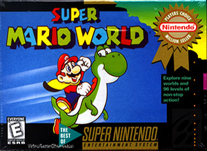 Super Mario World (boîte)