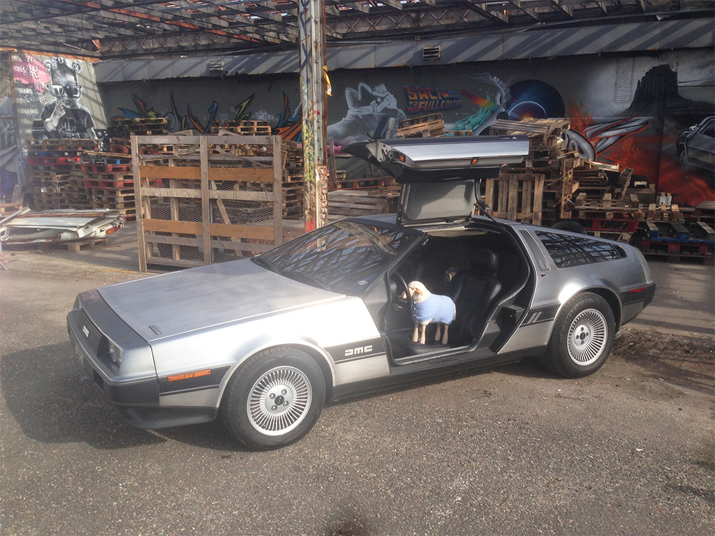 Barney Delorean Darwin