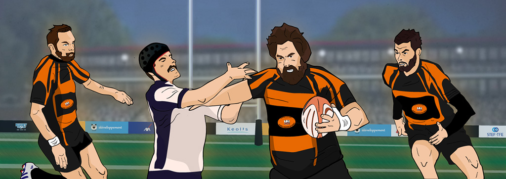 illustration ideveloppement Sporting Club Saint Pierre du Mont Rugby