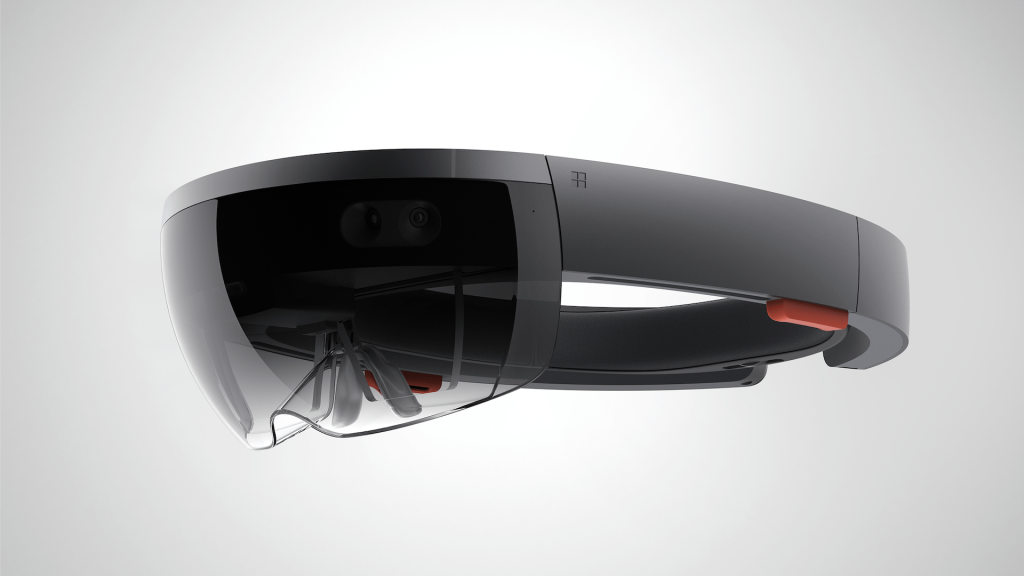 Illustration du casque Hololens